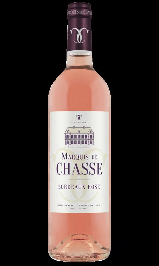Bouteille Marquis de Chasse - Bordeaux rosé